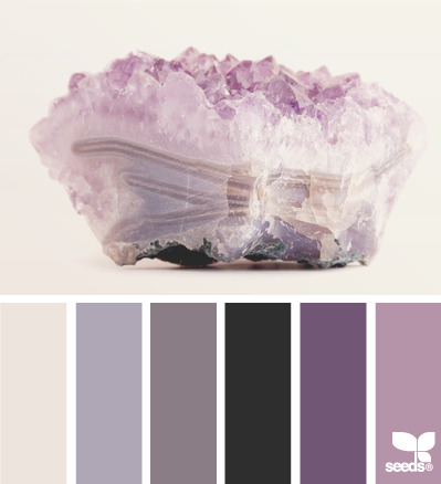 wedding colour palettes amethyst purples