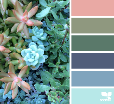 wedding colour palettes succulent hues with greens
