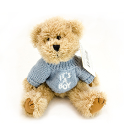 SF_BLUE SWEATER BEAR